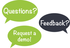 Questions? Request a demo!